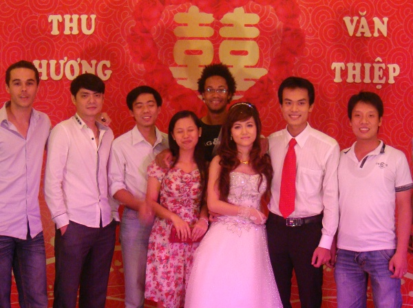 mariage Thiep et Huong