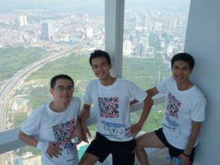 2012 Hanoi vertical run