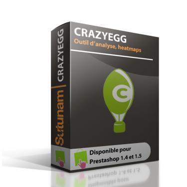 Crazy Egg Prestashop
