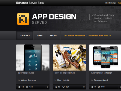 Meilleur Design app mobile Sportroops?