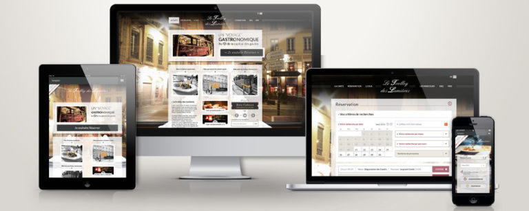 Responsive Symfony Trolley des lumieres