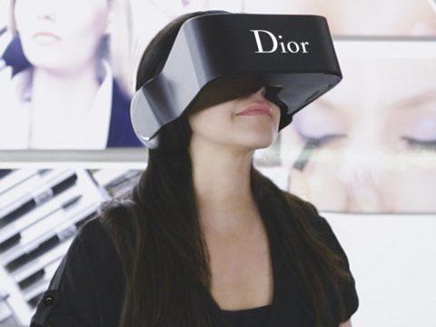 Lunettes à réalité augmentée Dior Eyes