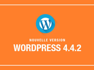 Wordpress Mise à jour 4.4.2