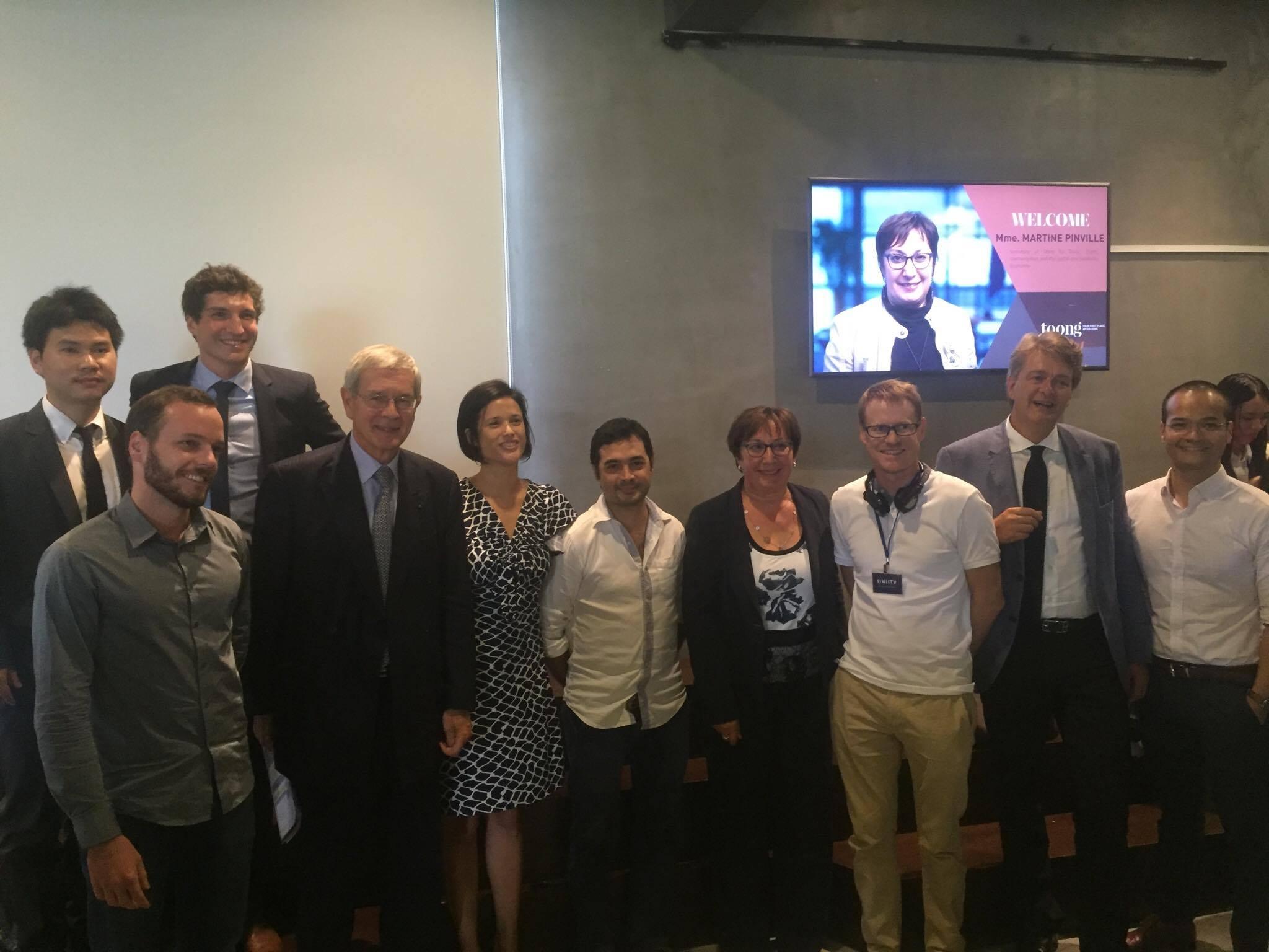 Vietnam fran ois hollande et la french tech viet for Chambre de commerce francaise au vietnam