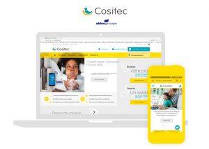 Cositec design pour WordPress